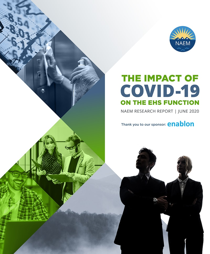 How COVID-19 is Impacting the EHS Function The First Industry Benchmark