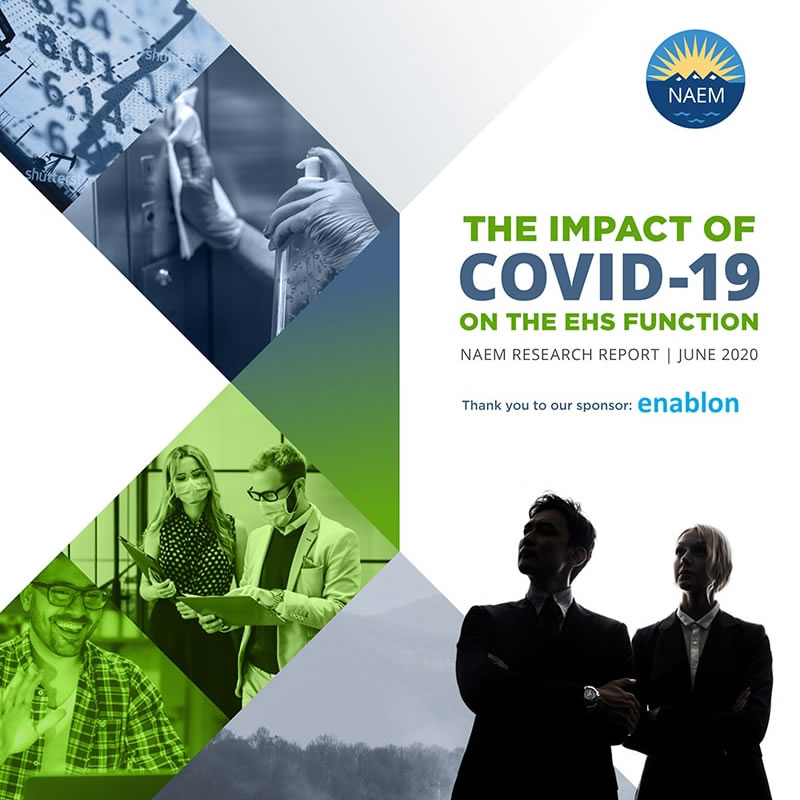 How COVID-19 Is Impacting the EHS Function: The First Industry Benchmark